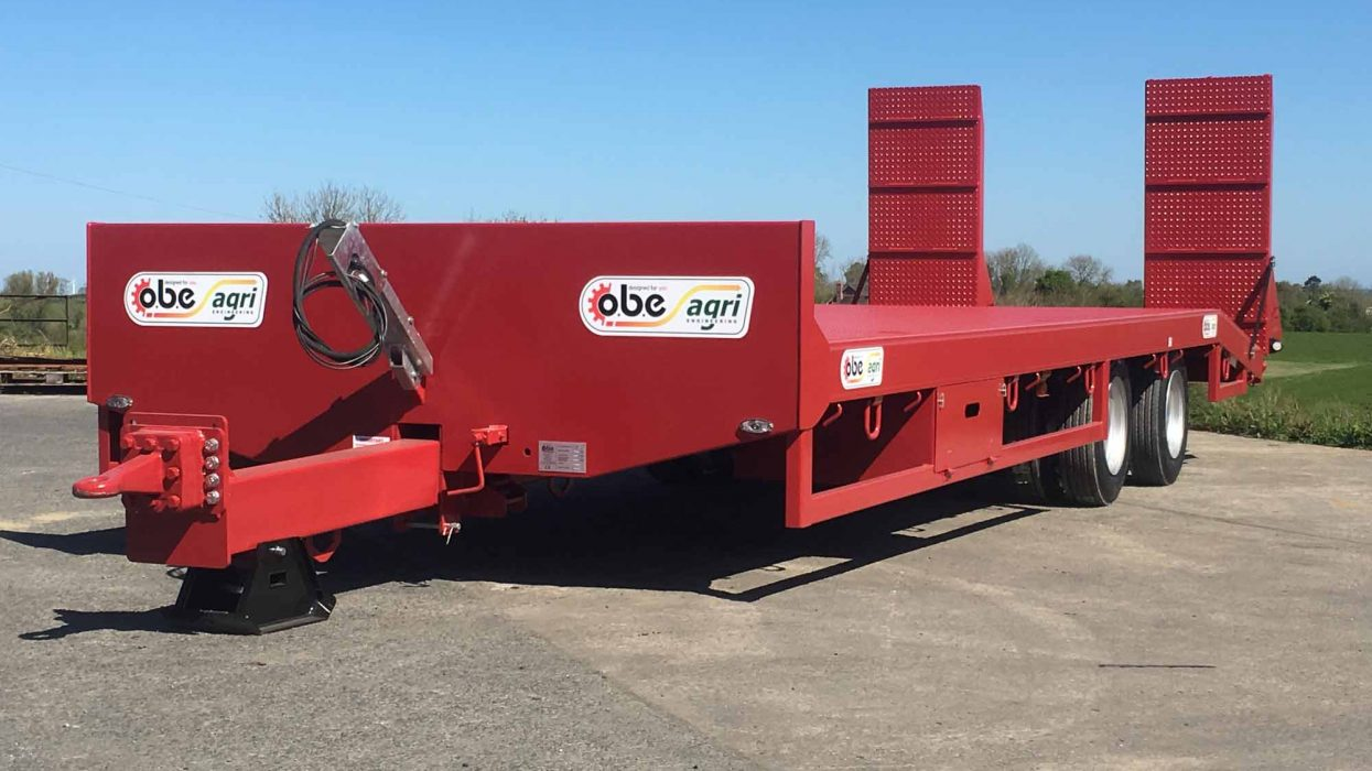 OBE Agri 19 ton low loader