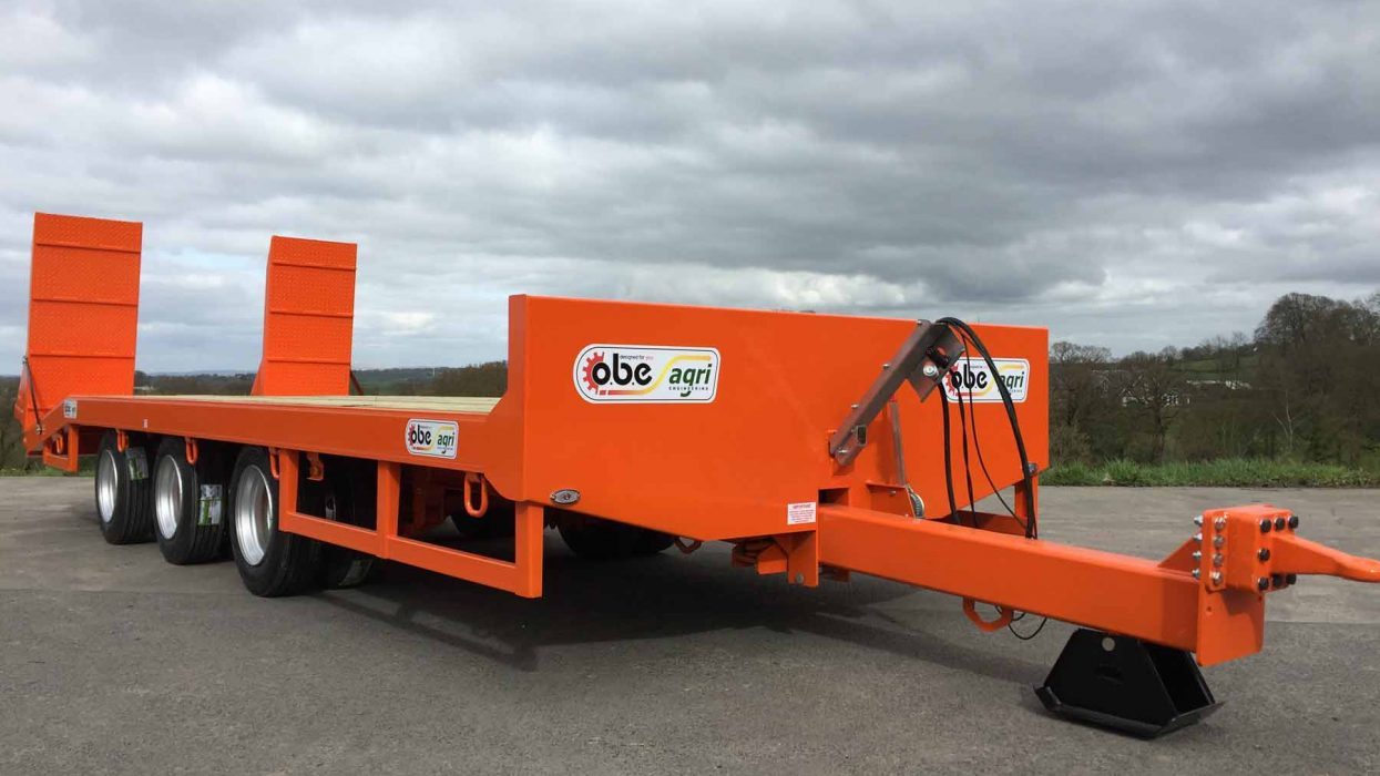 OBE Agri 22 ton triaxle low loader