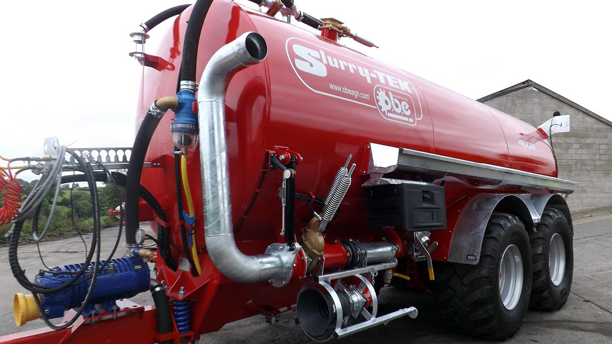 Vacuum Tanker