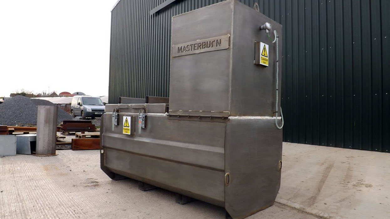 MB350 stainless steel incinerator