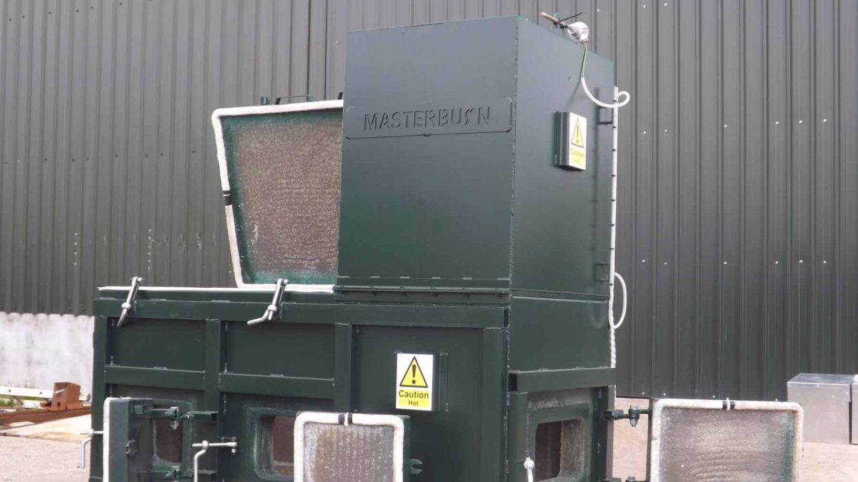 MB450C pet cremation incinerator
