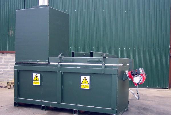 MB350 incinerator