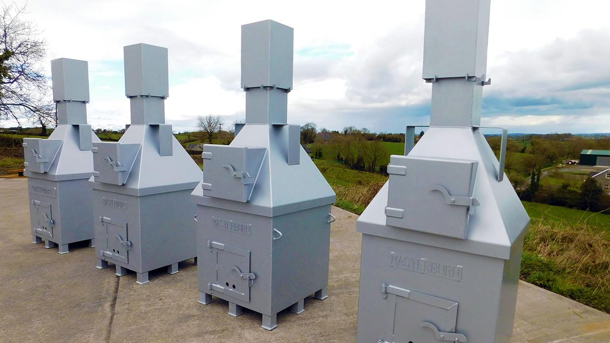 Masterburn Freeburner incinerators