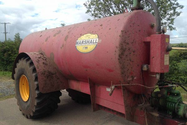 Marshall 2000 gallon tanker