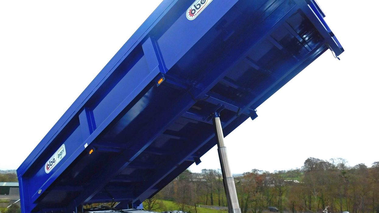 OBE Agri blue dump trailer
