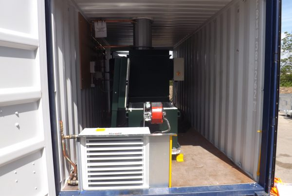 Containerised incinerator