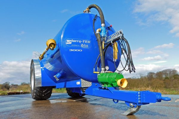 Slurry-TEK low centre gravity tanker