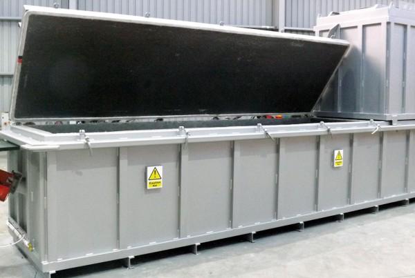 MB4000 incinerator