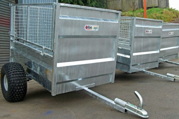 Galvanised ATV trailers